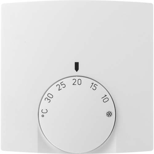 room thermostat / mechanical / for heating