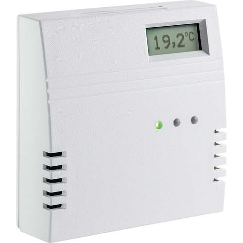 carbon dioxide detector / wall-mounted / commercial