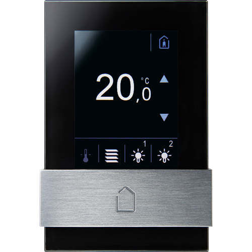 heating system control keypad / wall-mounted / with touchscreen / commercial