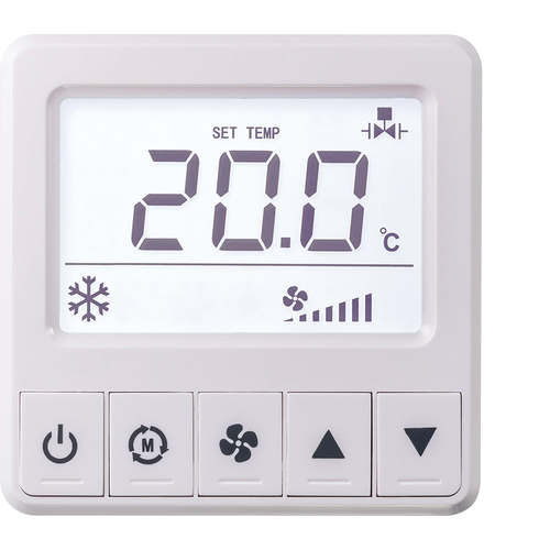 programmable thermostat / room / digital / wall-mounted