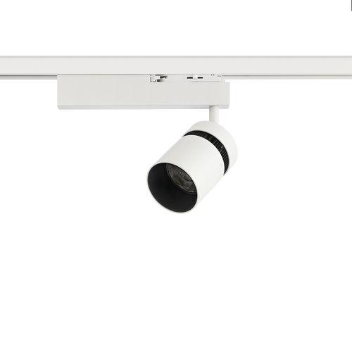 LED track light / HID / round / cast aluminum YORI Reggiani  Illuminazione