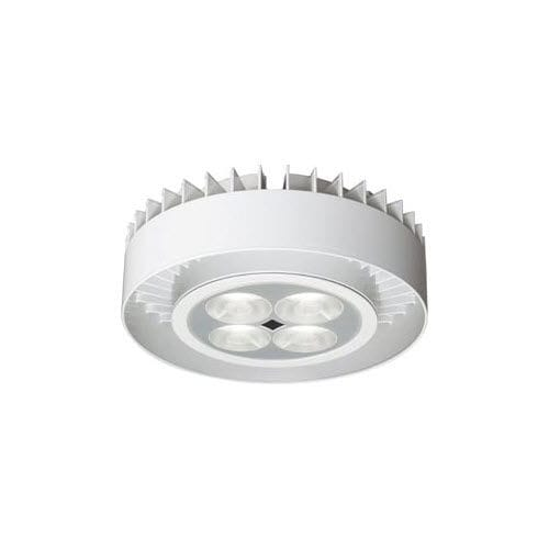 contemporary ceiling light / round / cast aluminum / LED
