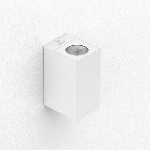 contemporary wall light / aluminum / LED / rectangular