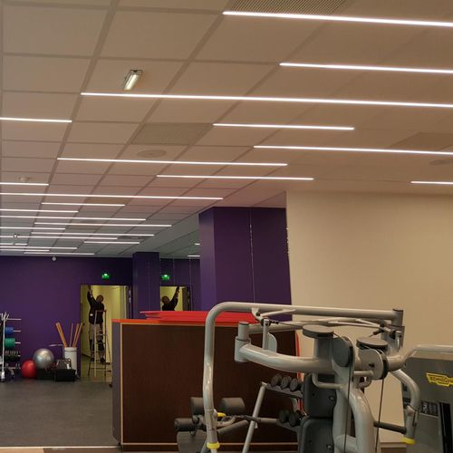 built-in lighting profile - ES-SYSTEM