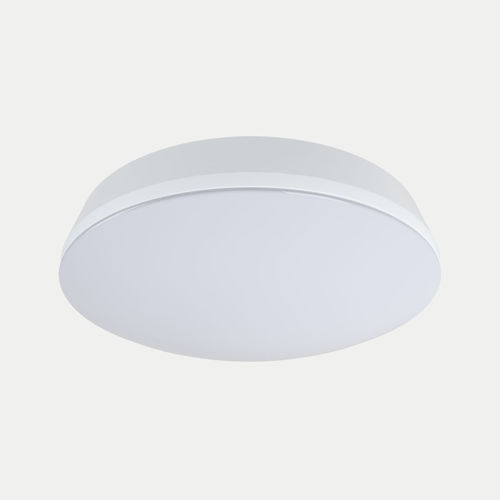 contemporary ceiling light / round / plastic / LED