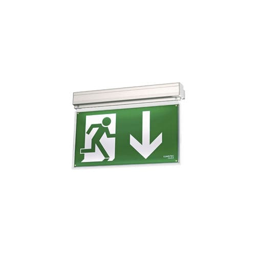 ceiling emergency light / wall-mounted / recessed / hanging