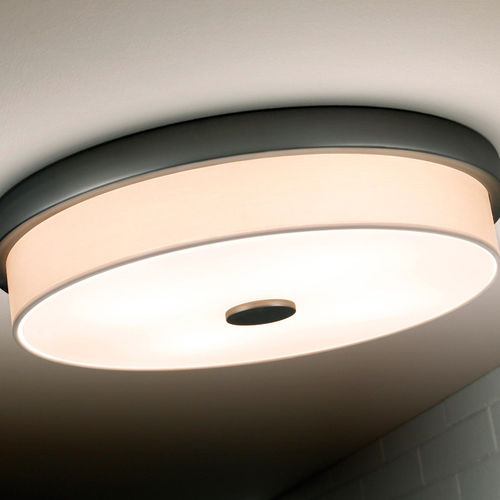 Contemporary ceiling light / round / glass / metal RONDO F by Joana Bover BOVER Barcelona
