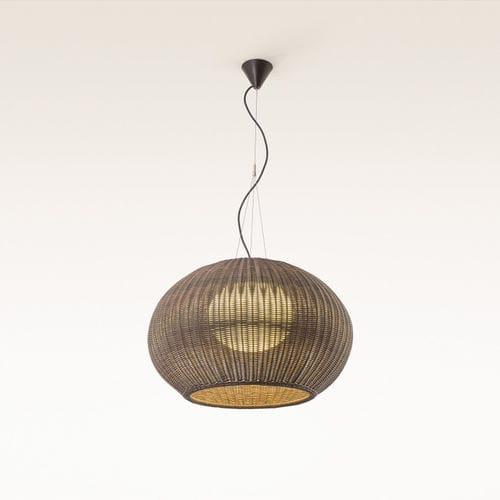 Pendant lamp / contemporary / synthetic fiber / polyethylene GAROTA S 02 by Alex Fernández Camps & Gonzalo Milà BOVER Barcelona