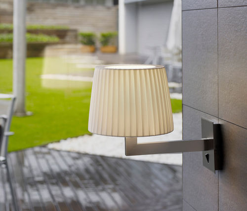 Contemporary wall light / outdoor / glass / brass LEXA VERTICAL by Joana Bover BOVER Barcelona