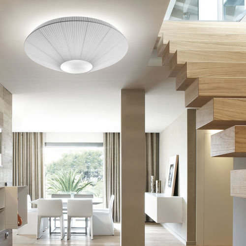 Contemporary ceiling light / round / methacrylate / polyester SIAM 150  BOVER Barcelona