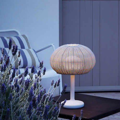 table lamp / contemporary / polyethylene / LED