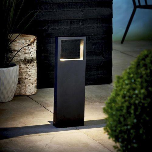garden bollard light / contemporary / lacquered metal / LED