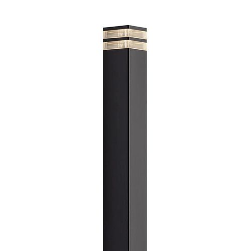 garden bollard light / contemporary / aluminum / plastic