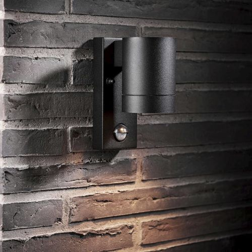 industrial style wall light / outdoor / aluminum / LED