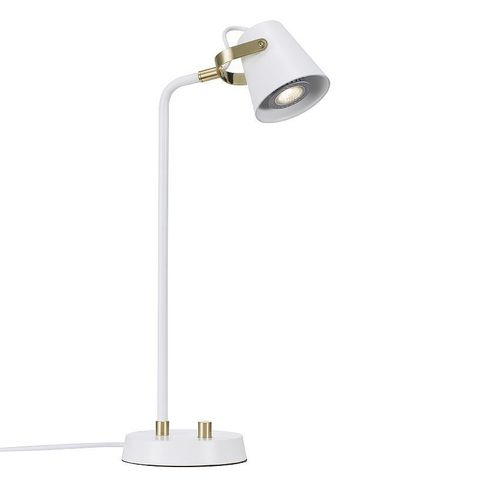 table lamp / contemporary / aluminum / dimmable