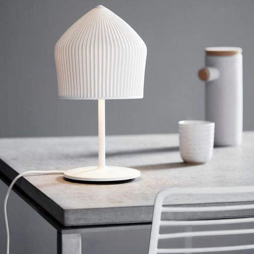 table lamp / contemporary / metal / porcelain