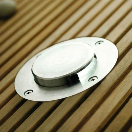 in-ground light fixture / LED / round / outdoor