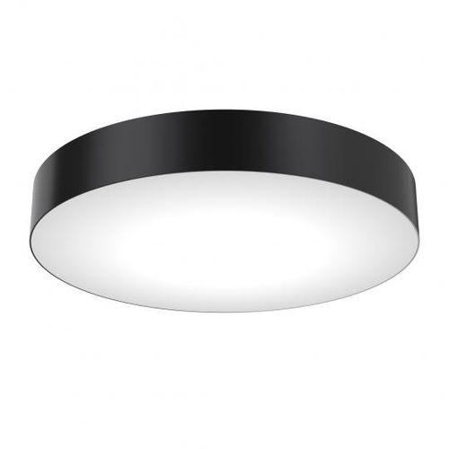 contemporary ceiling light / round / metal / plastic