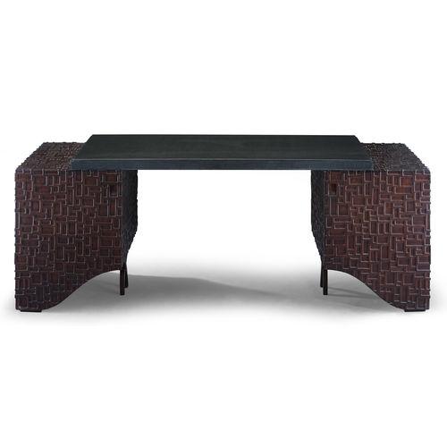 mahogany desk / traditional