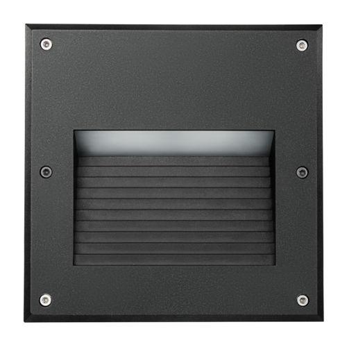 Recessed wall light fixture / LED / square / outdoor INTEGRA LUG Light Factory