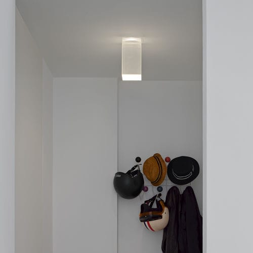 contemporary ceiling light / metal / polycarbonate / PMMA