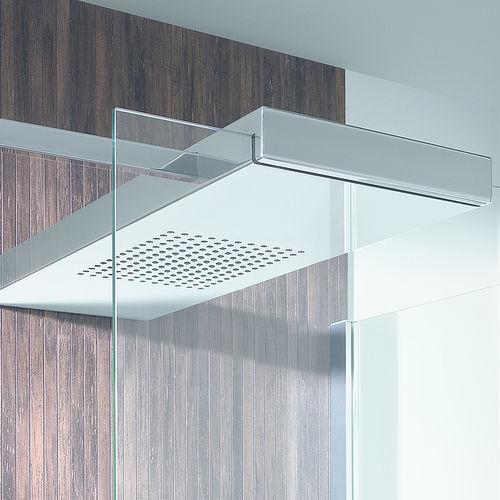 wall-mounted shower head / rectangular