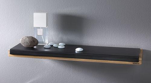 wall-mounted shelf / contemporary / teak / polyurethane