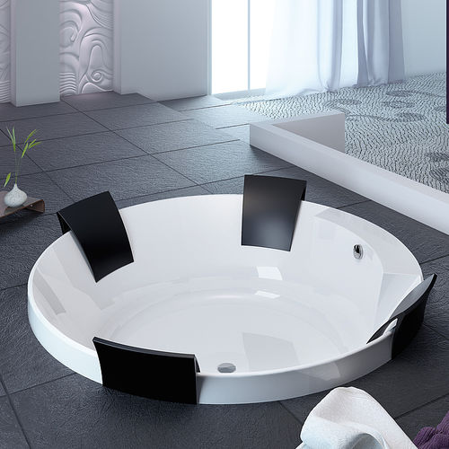 round bathtub / acrylic / double