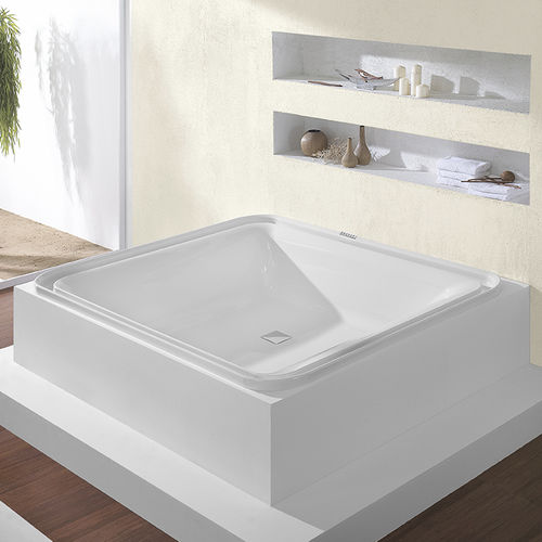square bathtub / acrylic / whirlpool