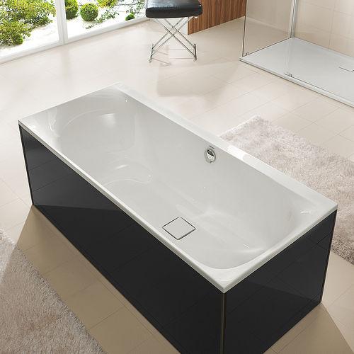 freestanding bathtub / glass / acrylic
