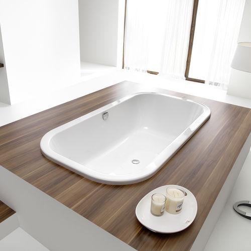 acrylic bathtub / double / by Andrée Putman