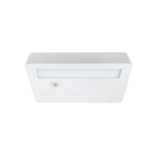 ceiling emergency light / recessed ceiling / square / LED