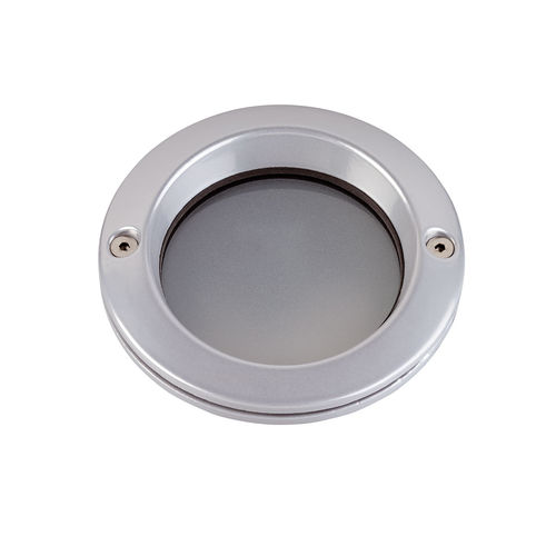 recessed wall light fixture / LED / halogen / round