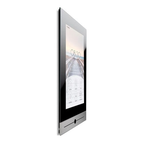 multifunction home automation system touch screen / wall-mounted / wireless