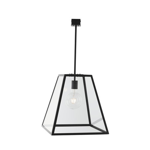 pendant lamp / contemporary / steel / outdoor