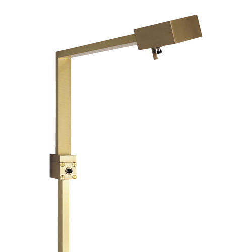 contemporary wall light / for indoor use / aluminum / brass