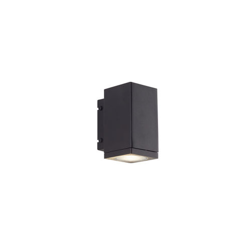 contemporary wall light / outdoor / stainless steel / LED