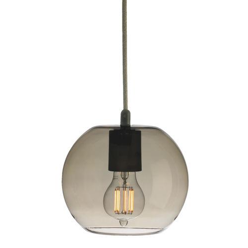 pendant lamp / contemporary / blown glass / handmade