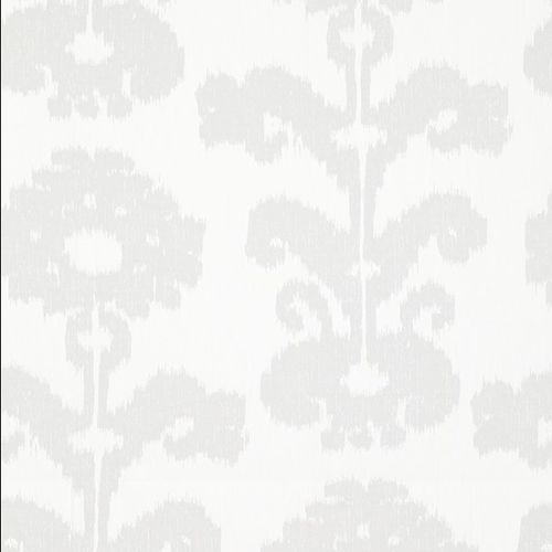 floral pattern sheer curtain fabric / viscose / polyester / home