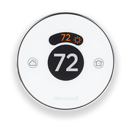 digital thermostat / wall-mounted / for heating / smart
