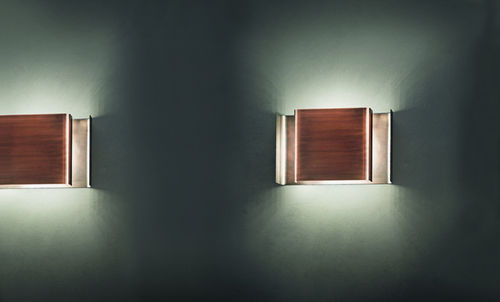 Contemporary wall light / wooden / rectangular ALALUNGA by Enrico Franzolini Karboxx