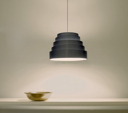 Pendant lamp / contemporary / fabric BABEL by Fabio Flora Karboxx