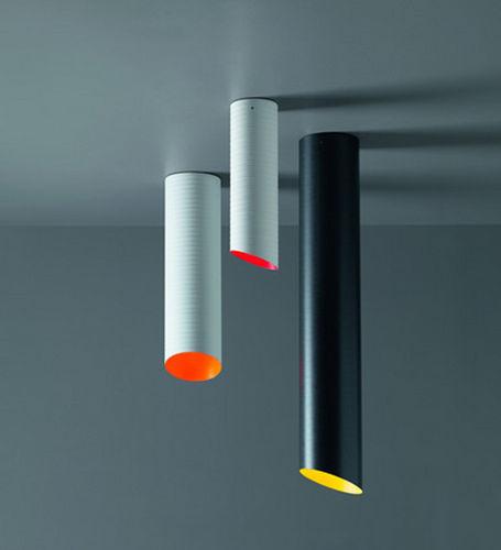 Pendant lamp / original design / fiberglass SLICE by E. franzolini & V. G. Jimenez. Karboxx