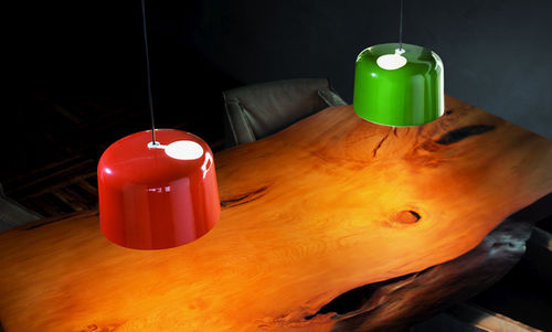 Pendant lamp / contemporary / porcelain / handmade ADD by Thomas Feichtner Karboxx