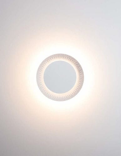 Contemporary wall light / plastic / LED / round SHINE Karboxx