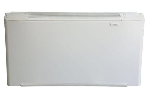 electric convector / metal / rectangular / horizontal