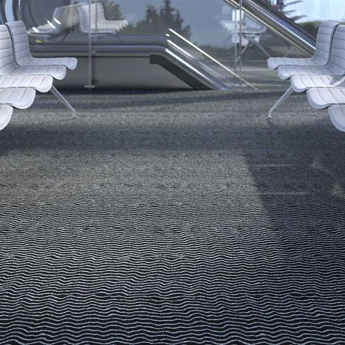 cut pile carpet / polyamide / contract / home