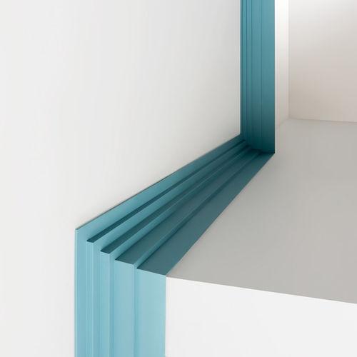 Polyurethane molding / straight / interior CORNICE SOFFITTO C393 STEPS BIANCHI LECCO SRL