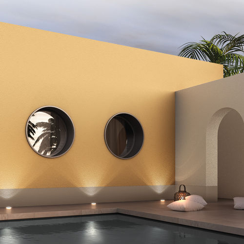 decorative paint / finish / for walls / exterior
