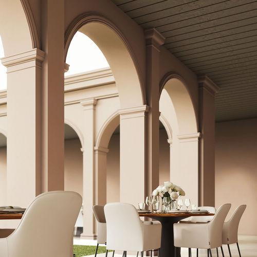 decorative paint / for walls / interior / exterior